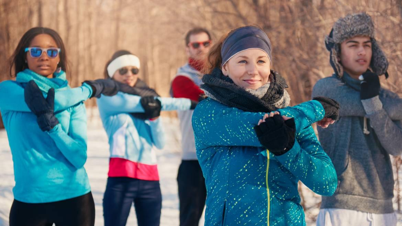 Outdoor-Training im Winter – worauf muss man achten?